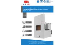 For.Tec. - Model FD 4.0 - Pet Crematories - Brochure