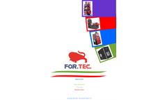 For. Tec. - Model CA - Animal Incinerators - Brochure