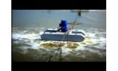 VaraCorp Floating Turbine Aerator Video