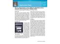 Mercury Determination in Soil, SRM 2710, EPA Method 245.5, using the CETAC QuickTrace™ M-8000 CVAFS - Application Note