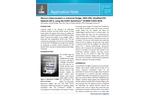Mercury Determination in Industrial Sludge, SRM 2782, Modified EPA Method 245.5, using the CETAC QuickTrace™ M‐8000 CVAFS‐SGTA - Application Note