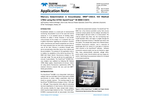 Mercury Determination in Groundwater, ERM®‐CA615, ISO Method 17852 using the CETAC QuickTrace™ M‐8000 CVAFS - Application Note