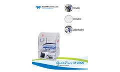 QuickTrace - Model M-8000 - Cold Vapor Atomic Fluorescence (CVAF) Mercury Analyzer - Brochure
