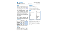 1703-HgFD-Rice Flour SRM 1568b-Tech Note