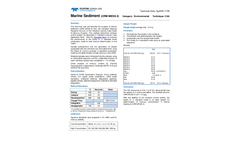 1705-HgENV-Marine Sediment CRM MESS-3 - Technical Note