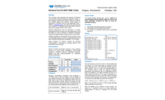 1802 HgPC Residual Fuel Oil NIST 1619b - Technical Note