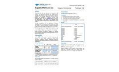 1709 HgENV Aquatic Plant BCR 060 - Technical Note