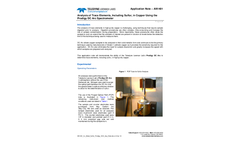 AN1401 Cu Metal Sulfur Prodigy DCA - Application Note