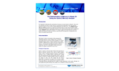 1057 - Determination of Hg in Used Engine Oil - Application Note