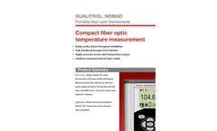 Neoptix - Nomad Portable Fiber Optic Thermometer Brochure
