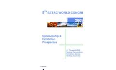 Sponsorship and Exhibition Prospectus (PDF File, 1.2MB)