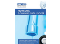 GPRS Compact SMS/GPRS Pressure and Flow Data Logger Brochure