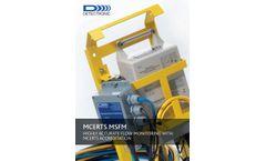 Detectronic - Model MSFM MCERTS - Area Velocity Flow Meter - Brochure