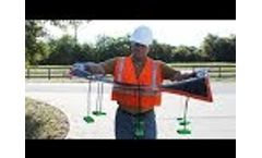 Taurus Over Grate Drain Filter | Stormwater Drain Guard & Catch Basin Filter by GEI Works Video