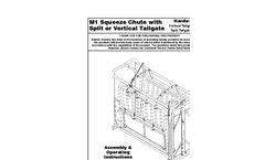 Model M-1V - Chute w/Fully Sheeted Split Tailgate Mounted Brochure