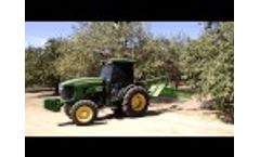 Nut Row Pro - Almond Orchard 2 Rows in 1 Minute Video