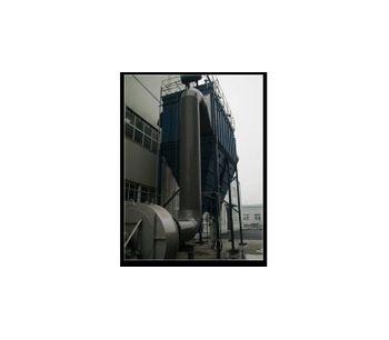 Asphalt Mixing Site High Temperature Resistant Dust Removal Bag Filter Equipment