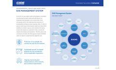 Ehs Management System - Brochure