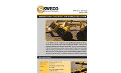 Sweco - Model 600 - Disc Harrow Brochure