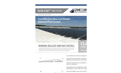 Ultra Low Weight Ballasted Roof System Brochure