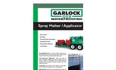 Garlock - Model 230 GSX - Waterproofing Applicator Brochure