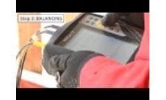 Field balancing with VIBXPERT II by PRUFTECHNIK - Video