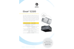 Elixair - Model E2100 - Indoor Air Cleaning Unit Brochure