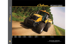Challenger - MT500D - Row Crop Tractors Brochure
