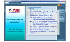 IMSXpress - Version ISO 9001:2015 - Complete Starter QMS Package Software