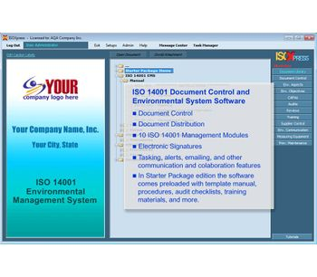 IMSXpress - Version ISO 14001:2015 - Complete Starter Package EMS Software