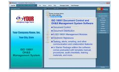 IMSXpress - Version ISO 18001 - Occupational Health and Safety Software (OHSAS)