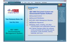 IMSXpress - Version ISO 14001:2015 - Document Control and Environmental System Management Software