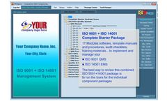 IMSXpress - Version ISO 9001+14001 - Combined Complete Starter Package Software