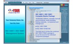 IMSXpress - Version ISO 14001+18001 - Combined Complete Starter Package Software
