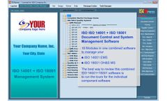 IMSXpress - Version ISO 14001+18001 - Combined Document Control and ISO System Management Software