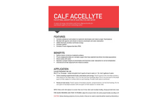 Accellyte - Calf Electrolyte Brochure