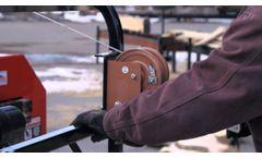 2013 HFE-36 Homesteader Sawmill - Video