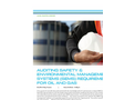 Auditing Safety-Environmental Management Systems-SEMS - Tech sheet