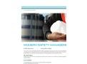 Modern Safety Management - Tech sheet