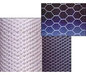 FWD - Hexnet of Metallic Woven Wire Cloth
