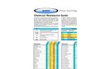 Sedifilt Chemical Resistance Guide