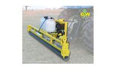 GrassWorks - Model Tractor - Weed Wiper