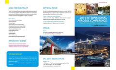 IAC 2014, International Aerosol Conference