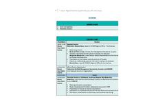 Detailed Agenda Brochure