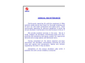 Annual Maintenance Services Brochure