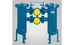 Femco - Model CPFD Series - Duplex Filters Course Filtration System