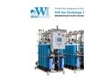 WI - Model CIX  - Skid-Mounted Ion Exchange System Brochure