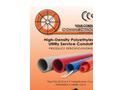 High-Density Polyethylene Utility Pipe Brochure