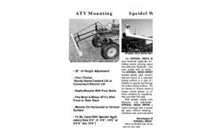 Speidel - Weed Wiper Applicator Brochure