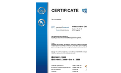 Certification Quality and Environmental Management System- Brochure